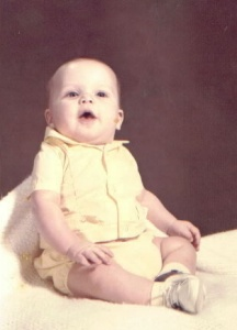 Me at 4 months old